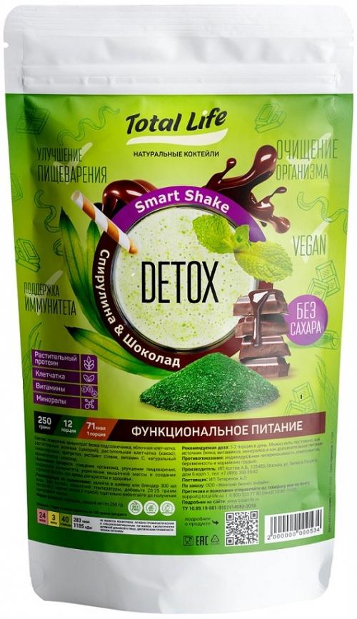 Total Life Smart Shake Detox (250г)