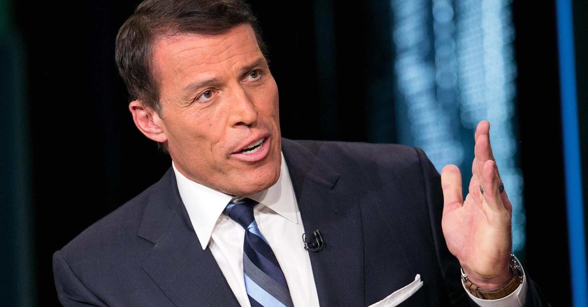 Tony Robbins speak
